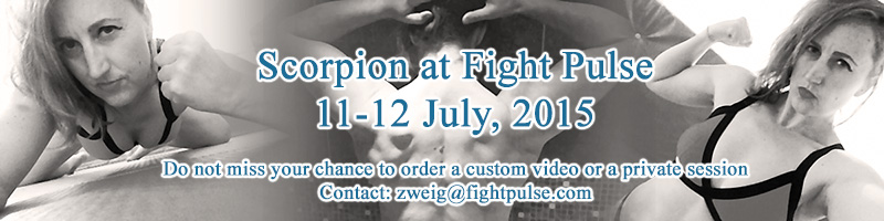 UK wrestler Scorpion visiting Fight Pulse - Soon!