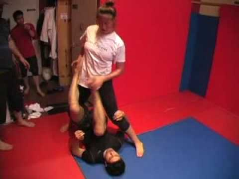 Jess Grappling vs. Ahmed