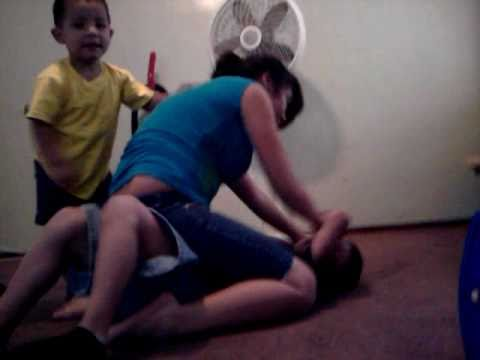 Breana beating up Zeek