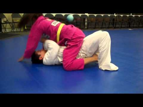 Tavid and Austin Brazilian Jiu-Jitsu Sparring