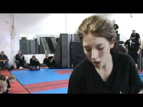 girl vs boy mma fight