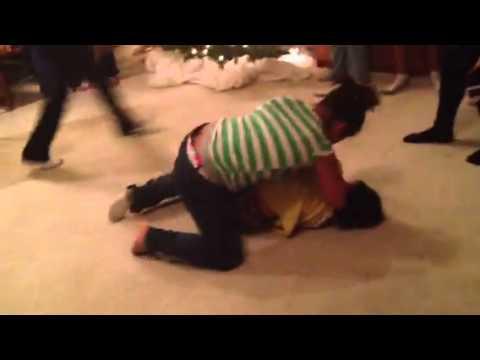 1:40 Girl wrestler beats a boy?