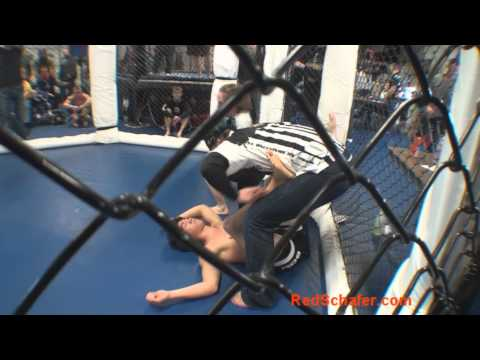 Female Grappler Chokes Guy Unconscious with Rear...