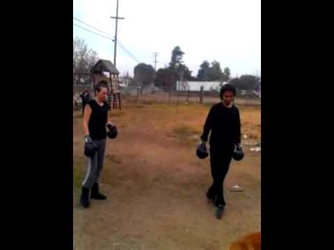 aunt vs nephew boxing