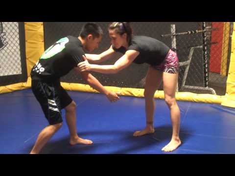 Cat Zingano demonstrates a few takedowns