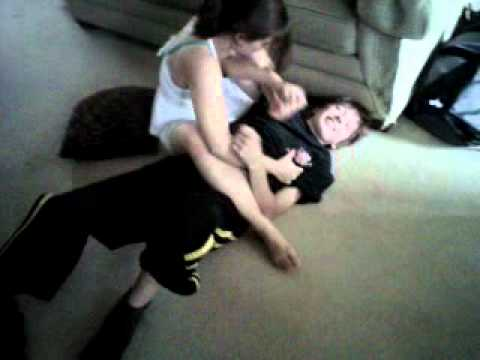 Sibling Rivalry - tickling submission