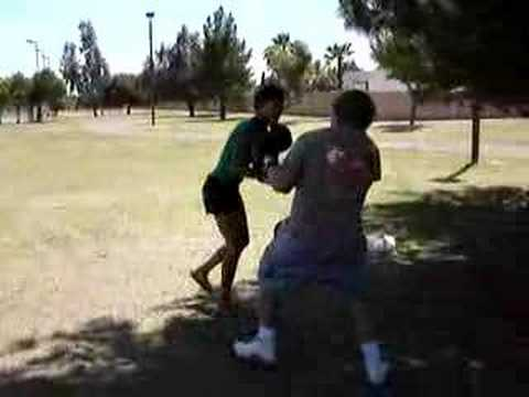 Boxing In Park