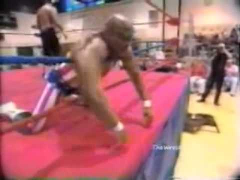 Tony Atlas Taking Real Shots From Woman