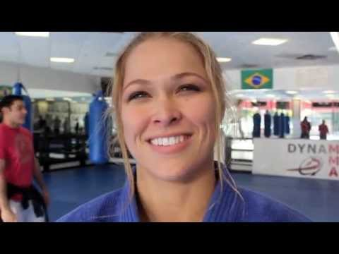 Ronda Rousey Sparring